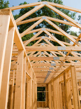 Wood Frame House